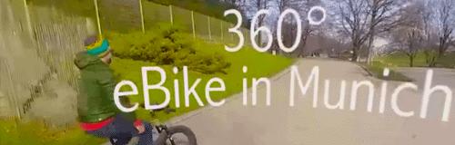 Olympiapark in 360 Grad!