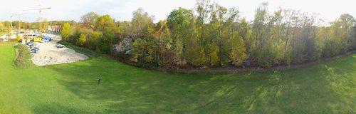 Panorama-Luftaufnahme