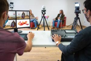 Talk und Expertengespräch im Livestream Studio München