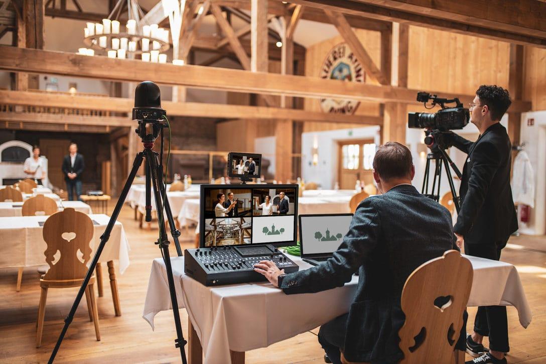 Livestream Tagung Konferenz München Aying