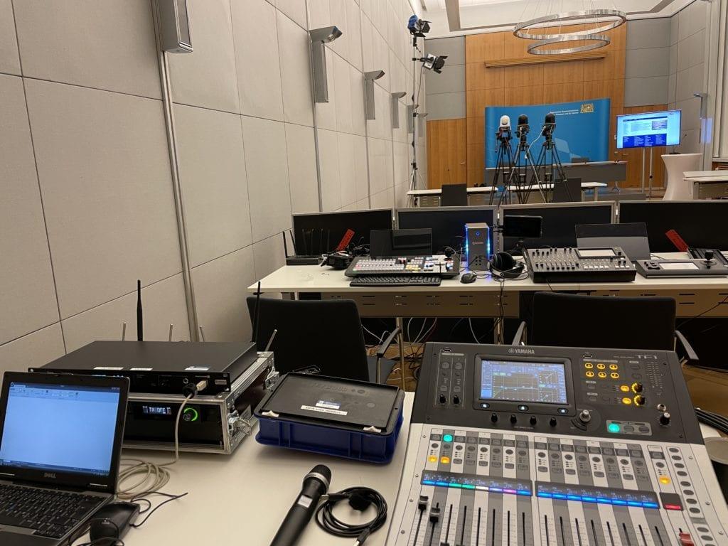 Finanzministerium Livestream München